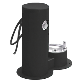 Cool Dog Waterfountain Drink, Wash, Cool - Black