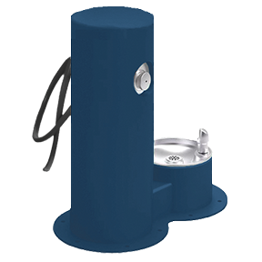 Cool Dog Waterfountain Drink, Wash, Cool - Blue