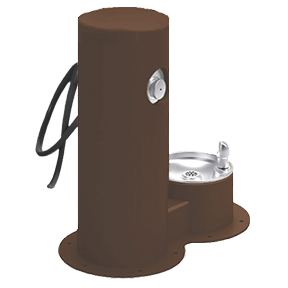 Cool Dog Waterfountain Drink, Wash, Cool - Brown