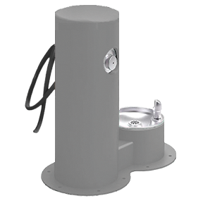 Cool Dog Waterfountain Drink, Wash, Cool - Gray