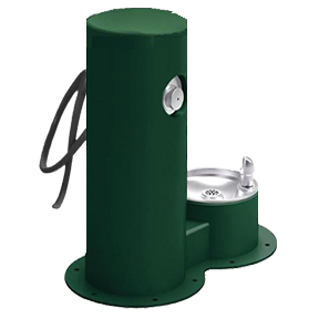 Cool Dog Waterfountain Drink, Wash, Cool - Green