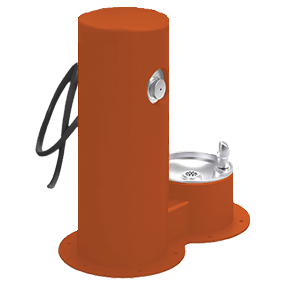 Cool Dog Waterfountain Drink, Wash, Cool - Orange