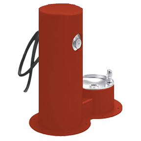 Cool Dog Waterfountain Drink, Wash, Cool - Red