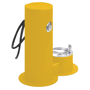 Cool Dog Waterfountain Drink, Wash, Cool - Yellow
