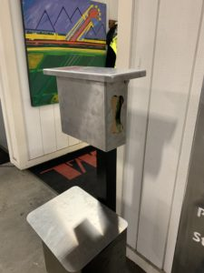 The Pet Waste Station Custom Stainless
